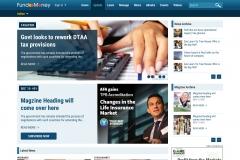 UI Design of a Website Focusing on Finance Magazines
