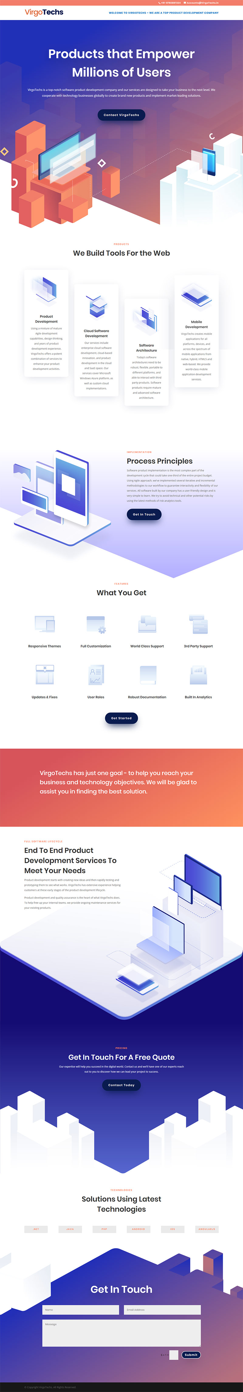 Responsive Website Design in WordPress (Divi theme)