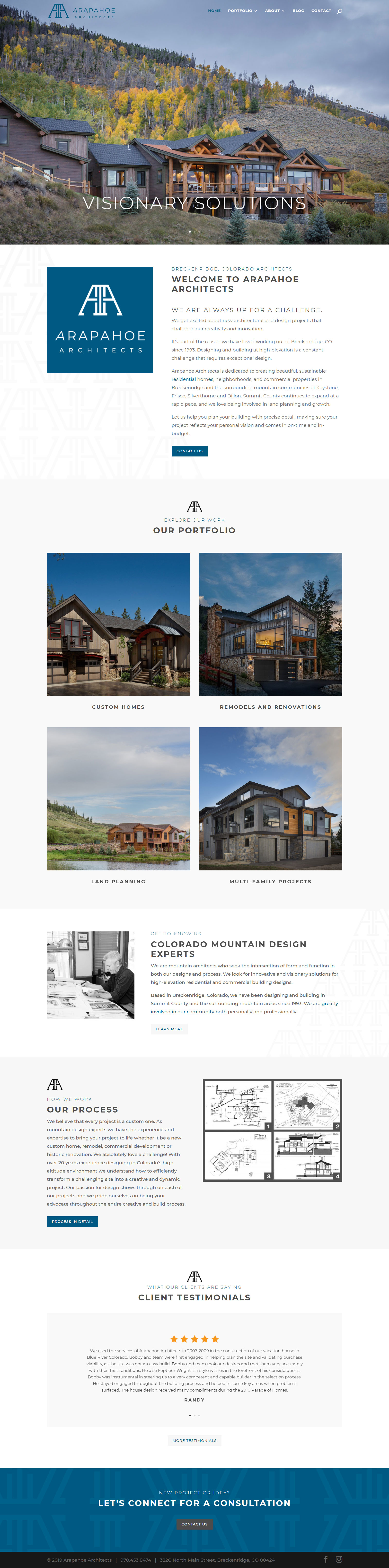 Arapahoe Architects - Catering to New Architectural and Design Projects