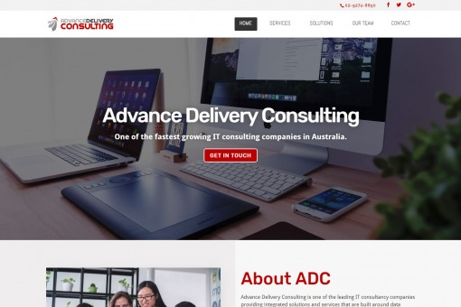 Responsive CMS Website Design for an Australian company