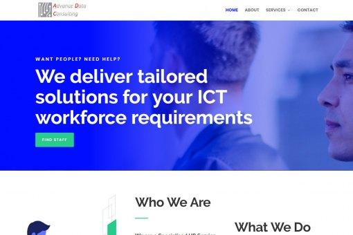 Website Design for an Australian HR Service Provider