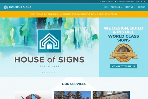 House of Signs - We Design, Build & Install World Class Signs