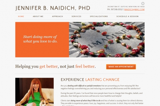 Jennifer Naidich PhD - Solutions that Empower the Way You Think