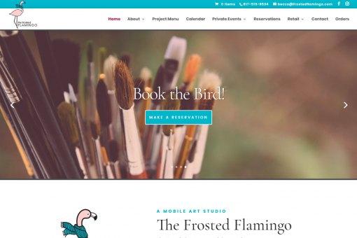 Website for a Mobile Art Studio in Colorado