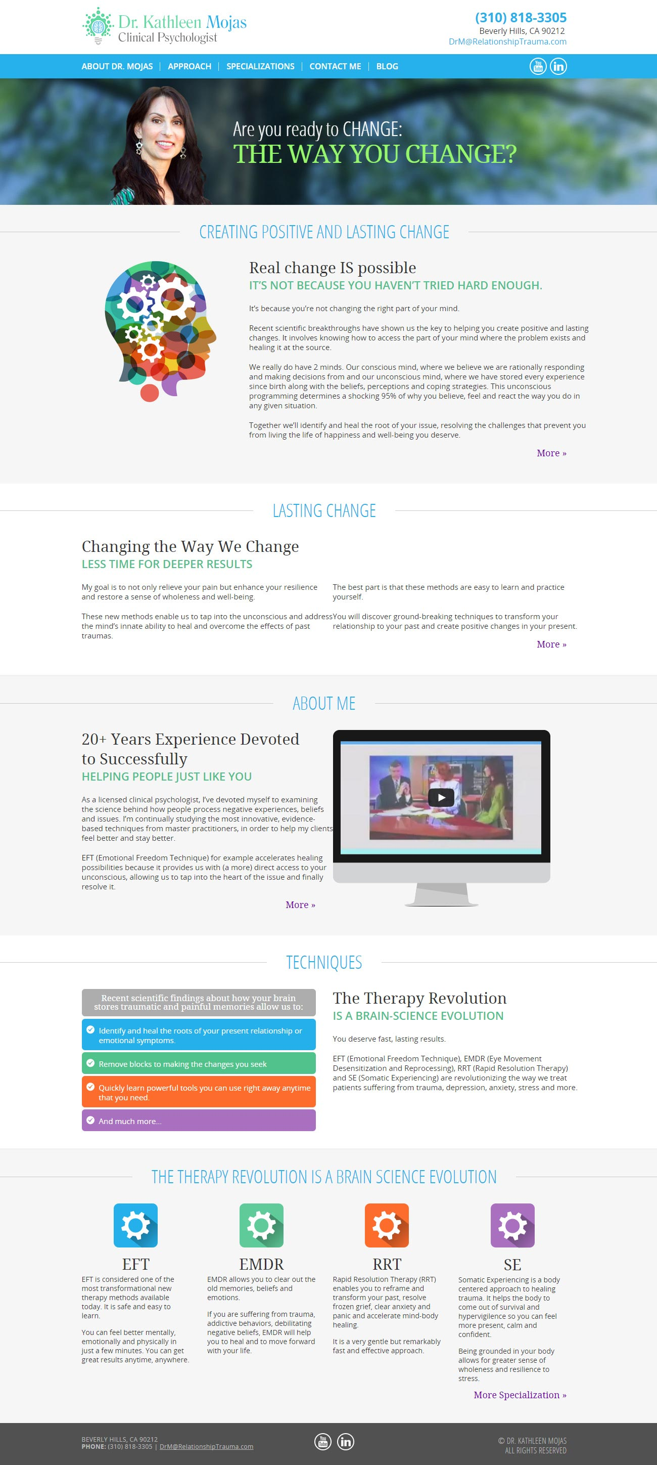 Branded Design & Development of a Responsive Website in WordPress