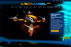 Ecommerce Website Selling Drones and Accessories