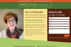 Website Design for a Psychiatric Nurse Practitioner