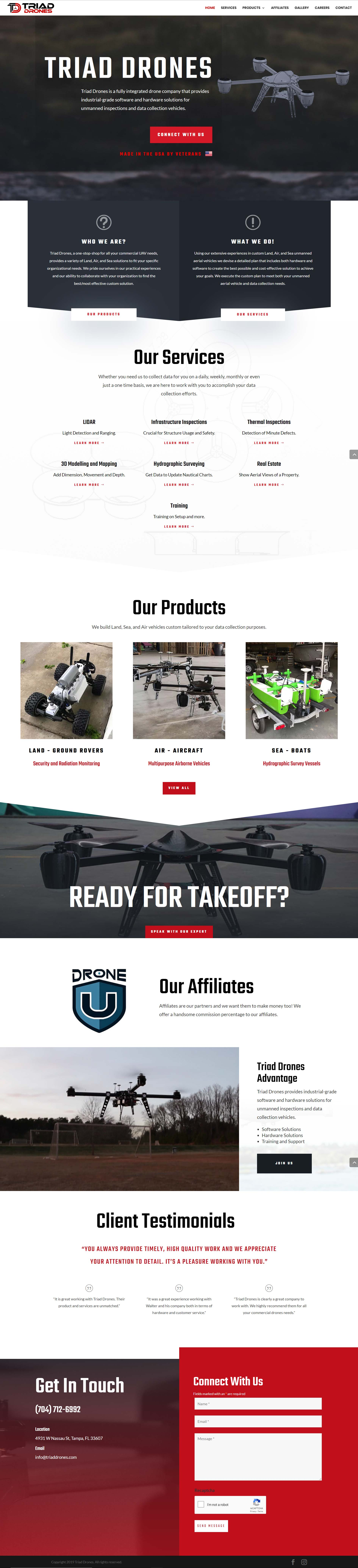 Website For All Your Commercial UAV Needs